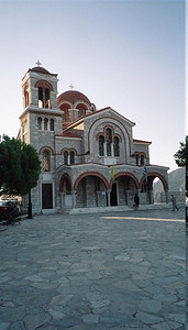 Nearly all churches in Greece, whether new or old, are in the Byzantine style.