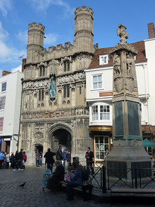 Canterbury entrance to church complex