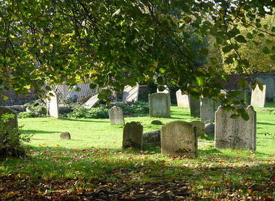Old church and cemetery, Canterbury