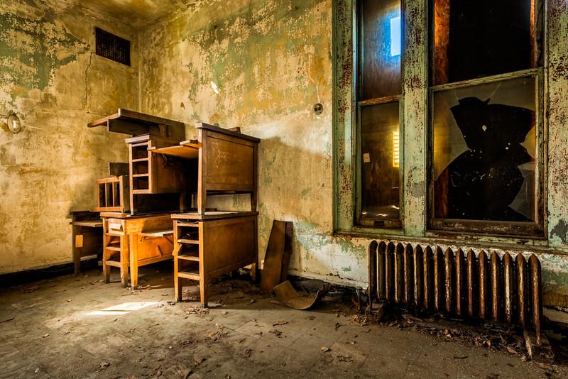 Desks, Ellis Island