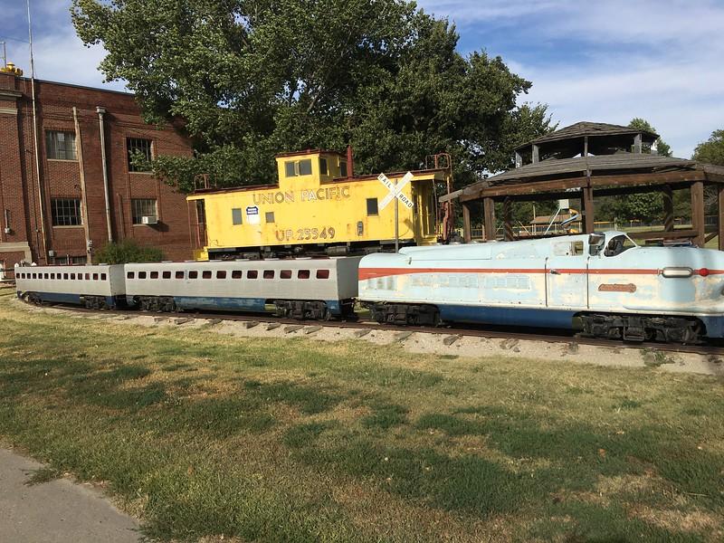 big small train