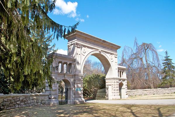 Elm Grove Cemetery in Mystic,CT