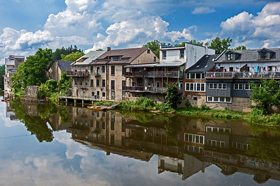 Elora Village and the Grand River