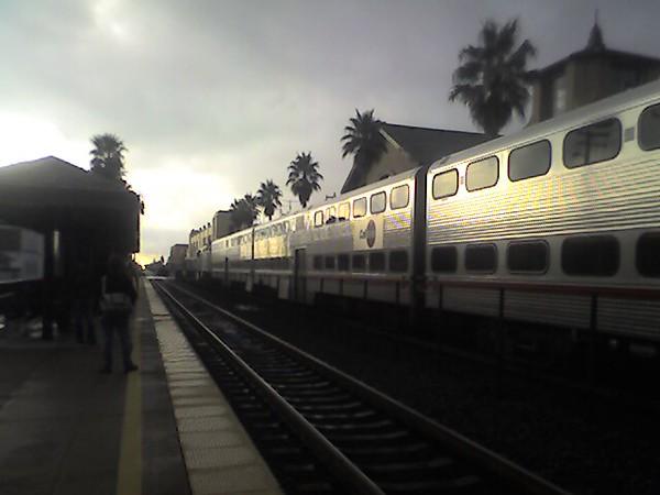San Mateo Caltrain station