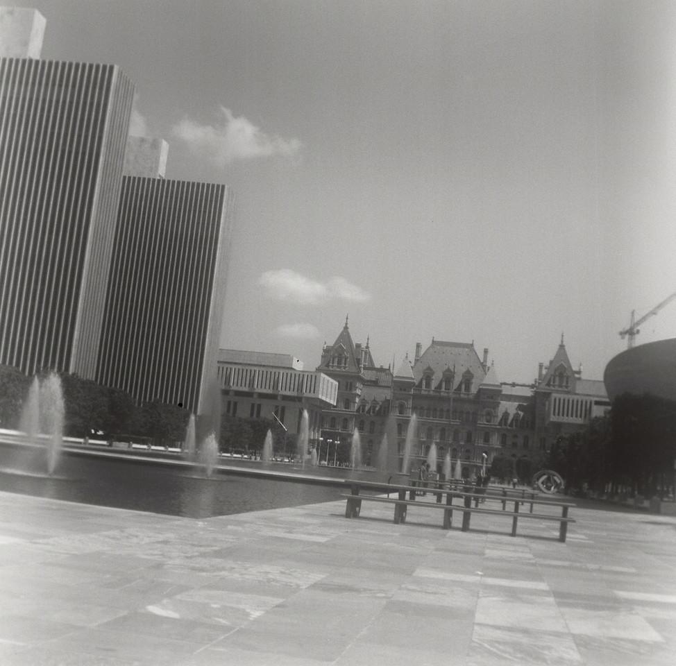 Empire State Plaza & Capitol