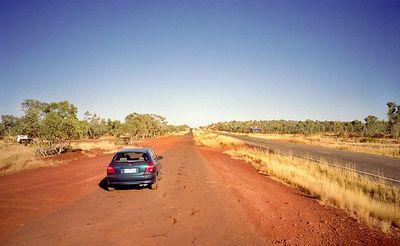 Barkly highway 1943 en 1994