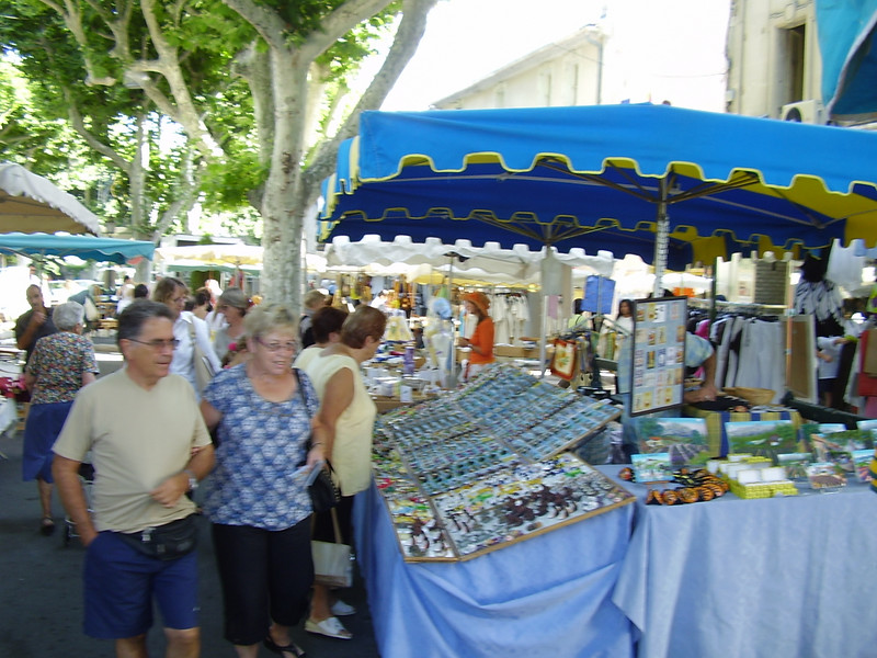 Market day in Saint-Rémy-de-Provence.