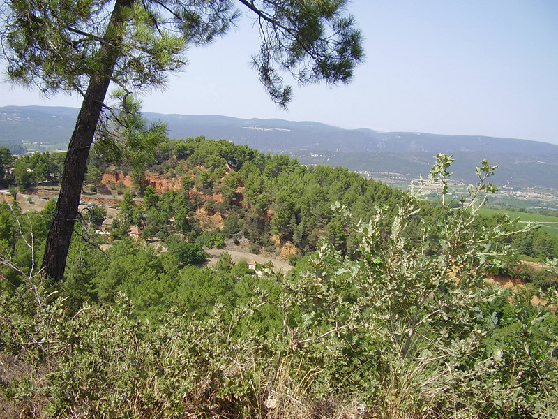 View from Roussillon.
