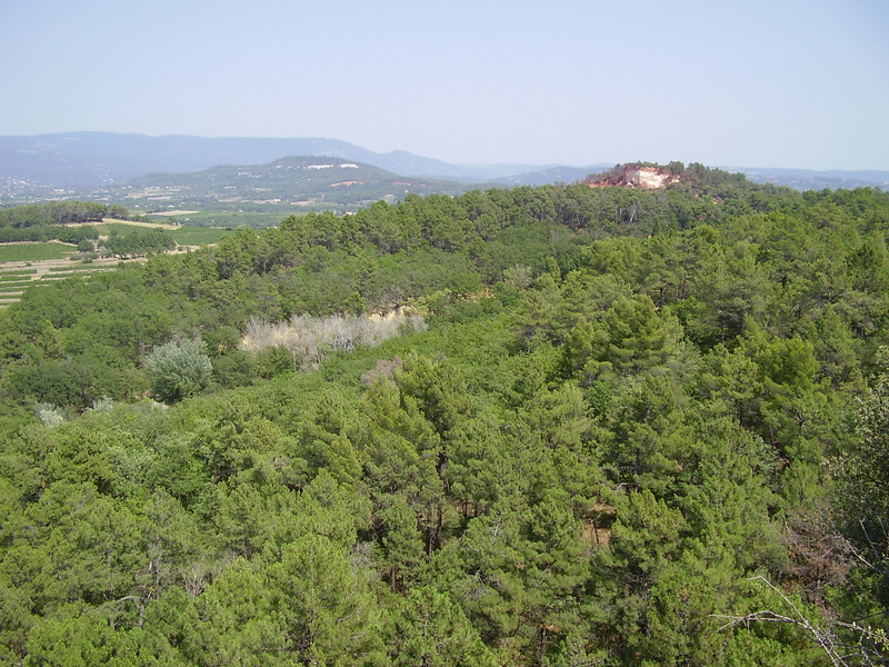 Another view from Roussillon.