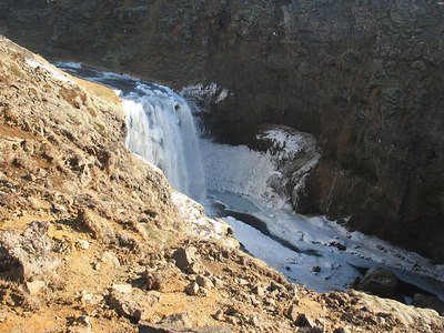 Eyjafjallajökull 2. apríl 2006