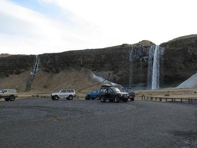 Eyjafjallajökull og Markarfljót mars 2005