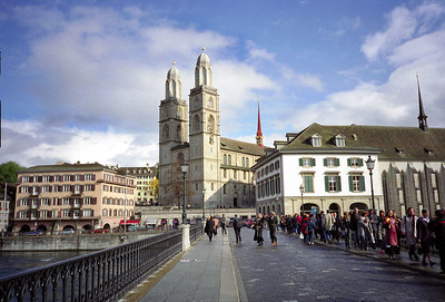 Grossmünster Zurich