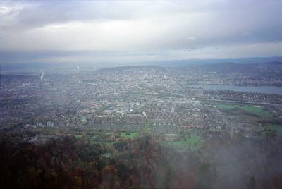 Uitzichttoren Uetliberg 871 mtr