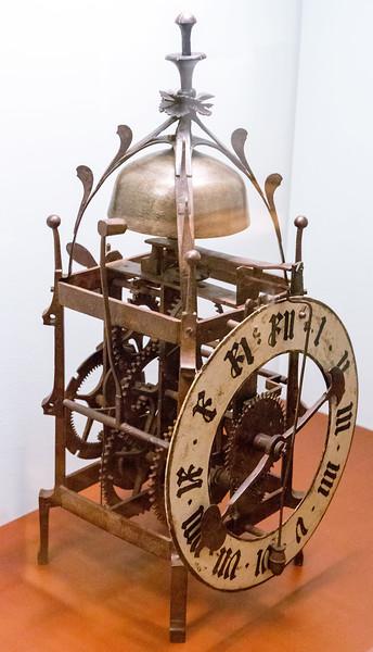 A late 16th Century striking clock