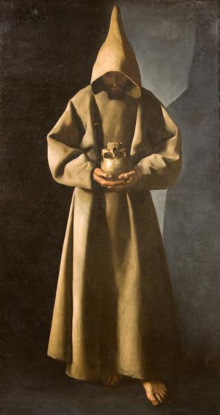 Zubaran: St. Francis in His Tomb