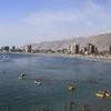 City view of Iquique, Chile