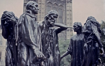 The Burghers of Calais - outside Westminster