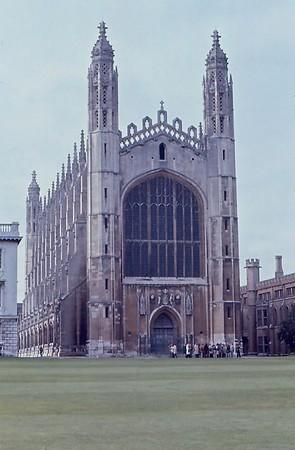 Exterior Kings College Chapel