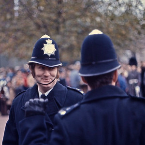 London Bobbies - opening day of Parliament