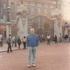 April 1, 1990<br /> London, England<br /> Bob in front of Buckingham Palace.