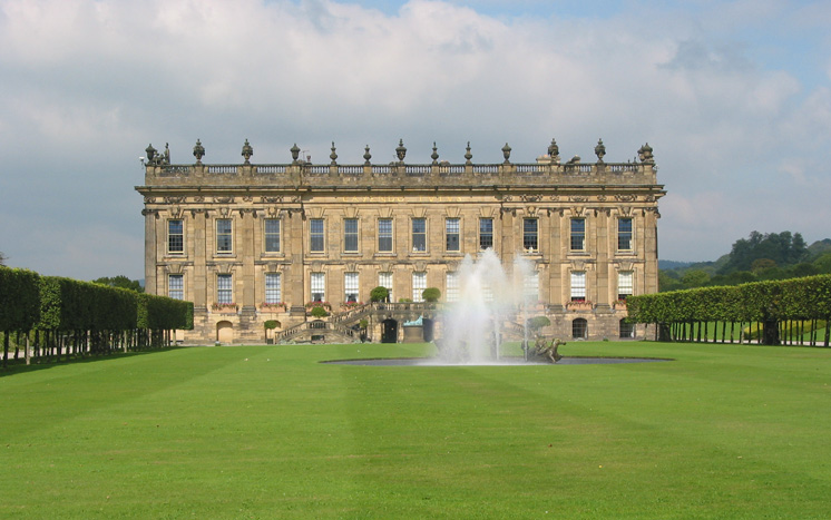 Chatsworth, Peak District, England.