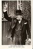 """Prime Minister Winston Churchill giving his famous """"V for Victory"""" sign."""