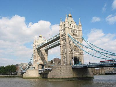 Tower Bridge, London.