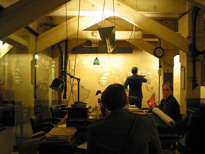 Map Room, Cabinet War Rooms, London