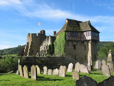 Stokesay Castle, Ludlow.