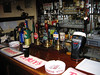 Middleton Tyas, North Yorkshire -- Shoulder of Mutton Pub.  This is the compact bar area (that's my Guinness on the bar).