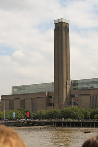 The Tate Modern art gallery; we don't visit here this year.