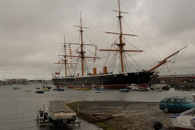 The HMS Warrior.