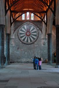 Arthur's Round Table in the Great Hall.