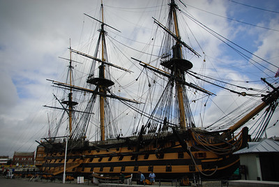 Visiting the HMS Victory