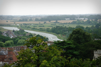 The view from the keep at Arundel Castle