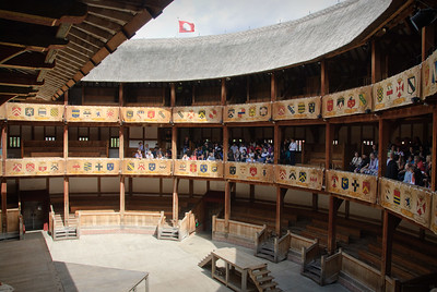 At Shakespeare's Globe Theatre