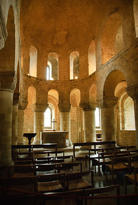 Chapel inside the White Tower in the Tower of London