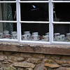 Teacup collection in the village of Blockley.