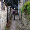 Entering the village of Broad Campden via the footpath.