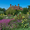 Beautiful gardens at Great Dixter, restored 15th-century manor house with extensive gardens.<br /> July 10, 2010