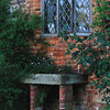 Sissinghurst: old sink used as a planter.