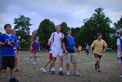 Students vs Staff Football game