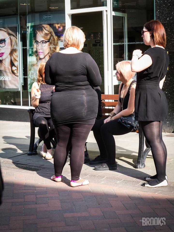 Not everyone in England has great fashion sense...