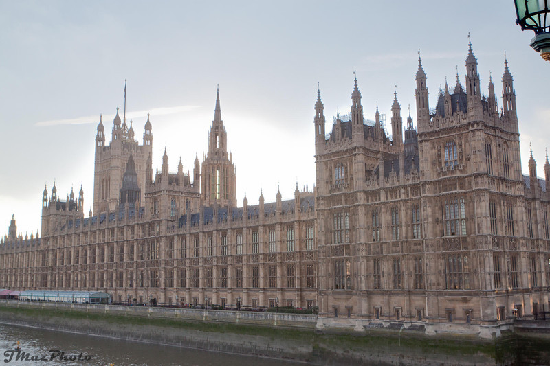 Westminster Palace from the bridge
