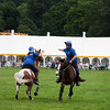 Team horse riding competitions at Chatsworth House Country Fair