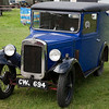 Vintage Austin van at Chatsworth House County Fair