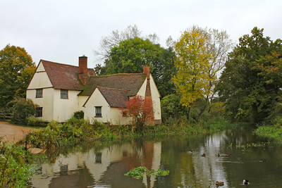 Willy Lott House.  Flatford Mill.
