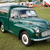 Classic Morris Minor van at Chatsworth House County Fair