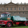 Vintage truck at Chatsworth House Country Fair