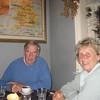 Martin and Margaret Henderson at The Bell Inn, Alresford, Hampshire.